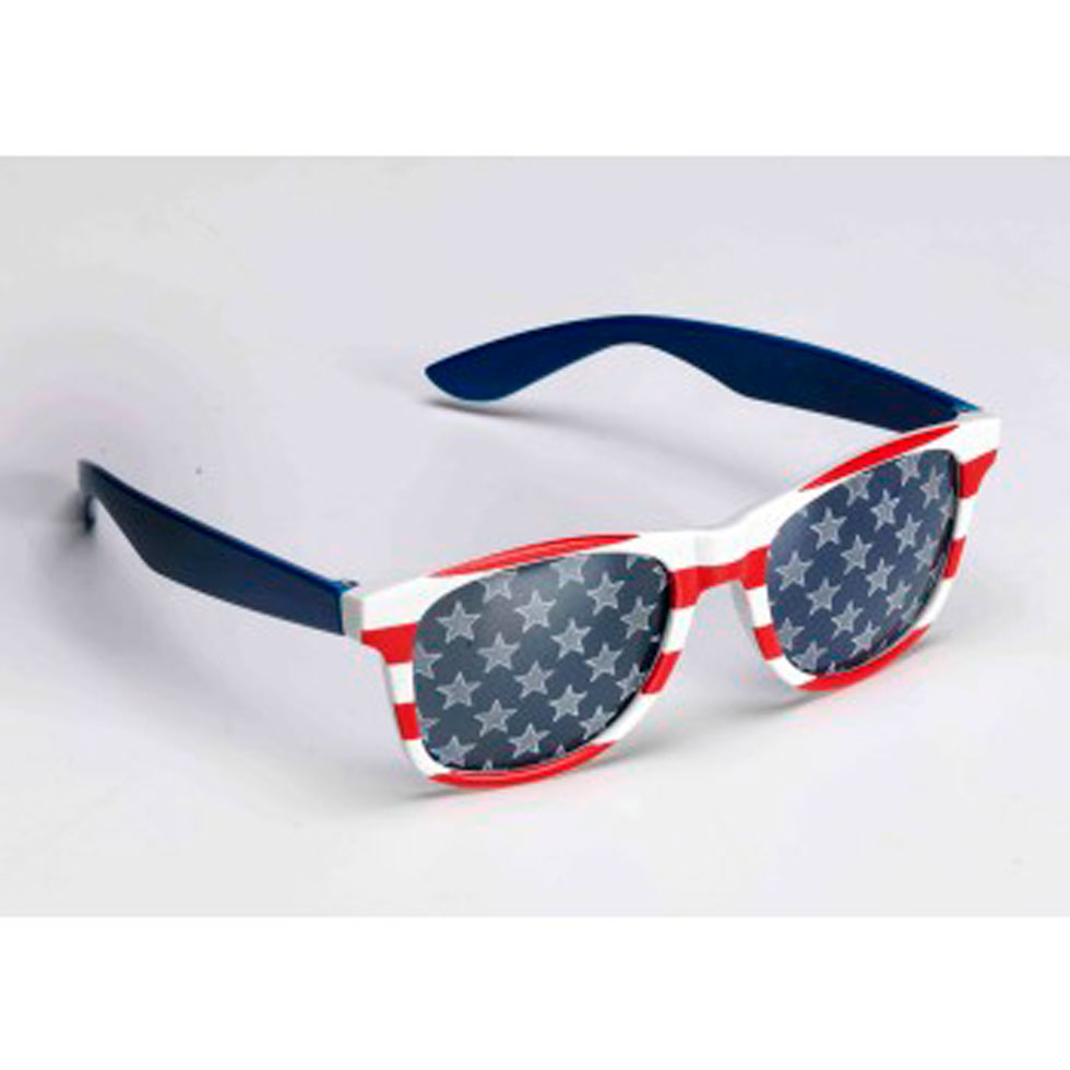 d858665fa2be GLASSES PATRIOTIC R W B ITEM  13632