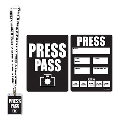 Arne 39 s warehouse for Press pass request template